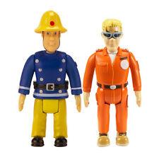 Sam Le Pompier - sam et Tom avec Lunettes - Pack De 2 Figurines TOUT NEUF