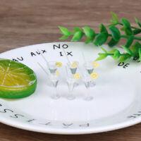6x 1:12 Dollhouse Miniature Lemon Juice Cups Dolls Kitchen Drink Accessories YK