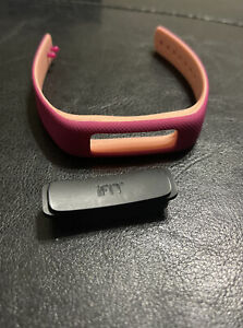 iFit Vue (IFACT2VUE) - Wireless Activity Tracker Battery And Band Pink