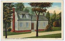 1939 EDENTON NC Tea Party House postcard