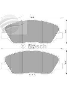 Bosch Brake Pad Front Set For Hyundai Santa Fe, Sonata Terracan (DB2034BL)