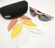 Tifosi Optics Slip T-1005 Wrap Cycling Sport Sunglasses w Interchangeable Lenses