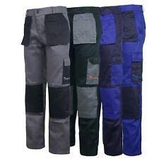 Work Wear Trousers Pants Knee Pad Pockets Men's Cargo Pockets Cargo Pant