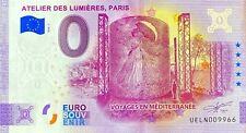 BILLET 0  EURO  ATELIER DES LUMIERES PARIS ANNIVERSARY FRANCE 2020 NUMERO DIVERS