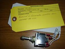 Aircraft Indicator Switch 6333-078-21A0A British Aerospace