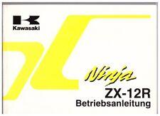Betriebsanleitung Kawasaki ZX12R Ninja - ZX1200A Ausgabe 2000