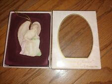 Vtg Christmas Ornament Ophelia Heart Seeker Guardian Angel Collectible Seraphim