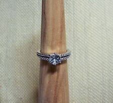 M6IH/ Aquamarine & Crystals Ring