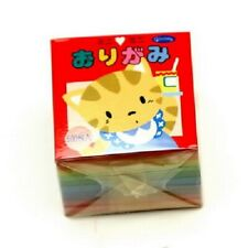 "New ListingJapanese Origami Folding Paper Assorted Color 1.5"" (4cm) 500 Sheet Made in Japan"