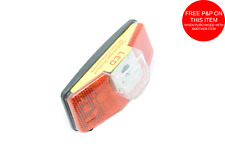 DUTCH STYLE BIKE DYNAMO LED LIGHT FITS REAR CARRIER LUGGAGE RACK WITH STANDLIGHT