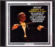 Christopher HOGWOOD: MOZART Symphony No.40 41 Jupiter L'Oiseau-Lyre CD Sinfonien