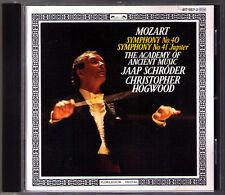 Christopher Hogwood: Mozart Symphony No. 40 41 Jupiter L 'OISEAU-LYRE CD SYMPHONIES