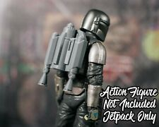 Mandalorian UNPAINTED Jetpack Star Wars Black Series Accessory Only
