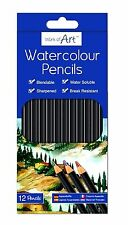 12 Full-Size Watercolour Pencils /Water Colours Sketching Painting / WH2 -R2B468