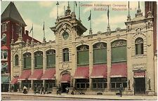 Genesee Amusement Company Building in Rochester NY Postcard