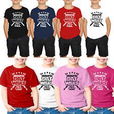 Kindergarten das wars T-Shirt Jungen Mädchen Schulanfang Einschulung +Name Druck