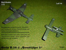 Gotha P.56-4  Parasitjäger 3    1/72 Bird Models Resinbausatz/resin kit