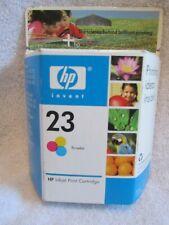 HP Inkjet Print Cartridge 23 Tri-Color - Deskjet, Officejet, Color Copier & PSC