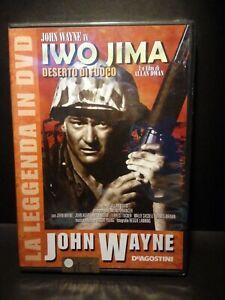 DVD John Wayne DeAgostini Iwo Jima  Deserto Di Fuoco Nuovo Blisterato