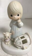 "Precious Moments Musical Figurines ""The Lord Giveth And the Lord Taketh"" 1987"