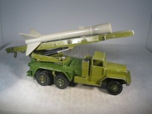 Dinky Toys Military Army Honest John Missile Launcher #665