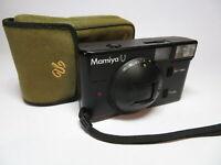 Mamiya U Ultra Compact f2.8 35mm Sekor Lens Tested Working 35mm Vintage Camera