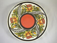Lorna Bailey Oldcourt Ware Daffodil Charger Limited Edition