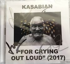 """KASABIAN """"FOR CRYING OUT LOUD"""" DOUBLE CD DEDICACE PAR LE GROUPE NEUF -SIGNED NEW"""