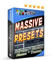 NI Massive GIANT Preset Banks (4300+ Sound Banks!) House Techno Dubstep Electro