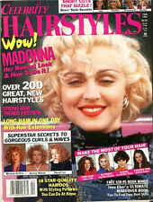 MADONNA 1991 Celebrity Hairstyle 8x11 Magazine - Breathless, Dick Tracy (VOGUE)