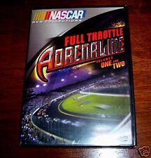 NASCAR Adrenaline Racing Race Drivers Driving Driver Cars Crashes A&E DVD NEW