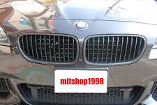 BMW 5 Series F10 / F11 5D TOURING Carbon Fiber Front Grilles 2010+