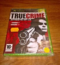 True Crime Streets of LA  Neuf sous blister VF  [Complet] Xbox 1er génération