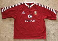 Adidas British Lions New Zealand 2005 Zurich Rugby Union Jersey Shirt Men's 2Xl