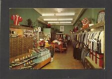 POSTCARD:  C.K. SLAUGHTER MEN'S CLOTHING STORE - DAYTONA BEACH, FLORIDA - Unused