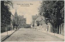 Lessen (Wpr.) - Rehdnovstrasse, Ansichtskarte gelaufen 1916 (Feldpost) -3340-