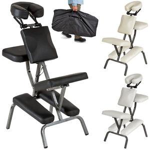 Chaise de massage de traitement pliante avec rembourrage épais tattoo neuf