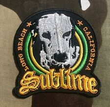 Sublime Lou Dog Embroidered Patch S084P Rancid Operation Ivy