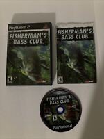 Fisherman's Bass Club (Sony PlayStation 2, 2003) Complete - Tested