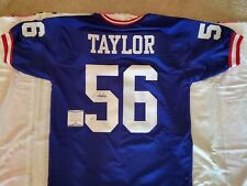 LAWRENCE TAYLOR SIGNED JERSEY BECKETT CERTIFIED NEW YORK GIANTS