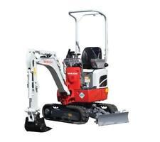 TAKEUCHI  TB210R  Compact Excavator Service ,Operator's  & Parts Manual CD