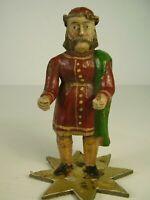 Antike Seltene Biedermeier Krippen Figur Holz