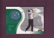 Steve Stricker 2001 Upper Deck Golf Tour Threads (Mint) Shirt Memorabilia