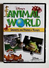 Disney's Animal World Snakes and Frogs & Toads Nature Children's Educational DVD