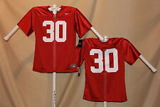 ALABAMA CRIMSON TIDE  Nike #30  FOOTBALL JERSEY Youth XL   NWT red $50 retail