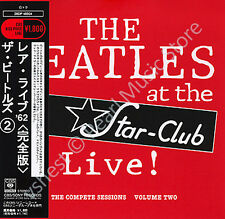BEATLES LIVE AT THE STAR CLUB vol.2 CD MINI LP OBI Harrison Lennon McCartney new
