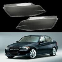 Car Headlight Headlamp Lens Cover Fit for BMW E90 2004-2007 323i 328i 328xi UK