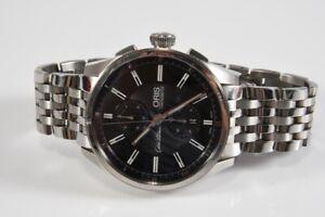 k47g26- Oris Oscar Peterson Chronograph Armbanduhr, Limited Edition, Saphirglas