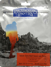 Freeze Dried Camp Food Backpacker's Pantry Pasta Bolognese w/Beef 2-Serving