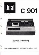 Service Manual-Anleitung für Dual C 901